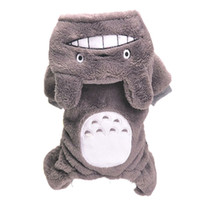 Wholesale Cute Dog Clothes Chinchilla Galesaur Totoro Design Pet Clothing Jumpsuit Puppy Overall Apparel Cat Kitten Costume