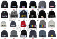 Cheap Hundreds of Beanie hats most popular skateboard sport caps high quality cheap winter knitted wholesale 20pcs lot free shipping