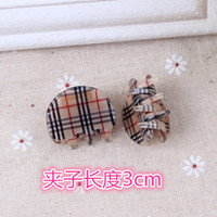 Wholesale New acrylic hair claw clip children hair clips ms bang clip girls fashion cm small side clip popular hair headwear accessories
