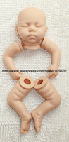 "Unisex Birth-12 months Vinyl Wholesale-20"" Reborn Baby Doll Kit Silicone Vinyl baby Dolls Kit soft Head 3 4 Arms Full Legs"