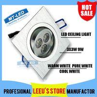 Wholesale Dimmable Led Ceiling light W LM LED Recessed Ceiling Down spot Light V led bulb lamp downlight lighting spotlight