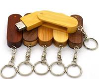 Wholesale Fashional The best keychina USB Oval wooden USB ZY J