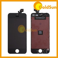 Cheap Complete LCD Screen Display Digitizer Assembly Replacement for iPhone 5 5G iPhone5 Touch Screen with Frame 100% Test