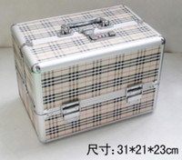 Cheap Free post SAL shipping~Professional make-up box, cosmetic box, make-up stuffs collection container,special make-up tools box