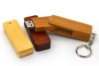 Wholesale the best keychina usb rectangular wooden usb promotional gifts
