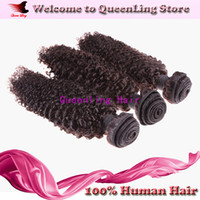 Cheap kinky curly Hair weft Best Brazilian