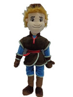 Wholesale 2014 New Frozen Kristoff Plush Dolls cm Stuffed Forozen Soft Toys Baby boys Girls Christams Birthday Party Gift J082102