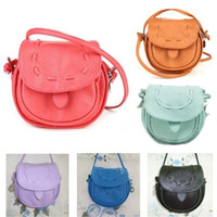 Wholesale Women Small Tongue Shoulder Bags Ladies Cross Body Bags Mini Leather Messenger Bags Candy Color Handbags