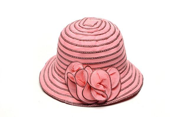 Bucket Hats Flowers Flower Striped Bucket Hats
