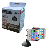 Cheap Car Mount Holder Windshield Windscreen Sucker Stand 360 Rotation with Retail Box for Iphone 4s 5s 6 Samsung S4 S5 S3 S6 GPS Mobile Phone