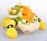 other mario bros toy - New inch King Bowser Koopa Of Super Mario Bros Soft Toy Plush Animal Doll DH04