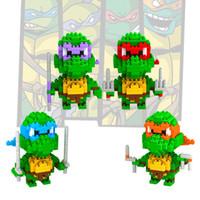 Wholesale LOZ Children s intelligence toys D puzzle toy building blocksdiamond Ninja Turtles Educational Toys H