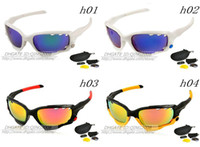 Wholesale NEW TOP cycling black yellow sunglasses of cycling Cycling Glasses lens Riding Glasses WITH Lens