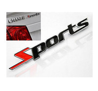 Cheap Very cool Metal Auto Refitting Racing Decals Badge Emblems Stickers For Sports