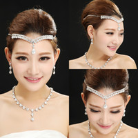 Wholesale Real Image Crystal Crown Wedding Bridal Tiaras and Neckline Hair Accessories Shining High Quality Flower Princess Tiaras In Stock