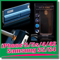 Wholesale USB Lighter Cell Phone Hard Case Fire Smoking Cigarette Luxury Mobile Cover for iPhone s S for samsung galaxy S5 S4 Samsung S3 note