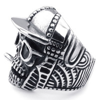 band baseball caps - Casting Baseball Cap Glasses Smoke Skull Stainless Steel Skull Ring