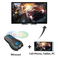 Cheap Hot selling Android V5ii Wireless TV Display Dongle HDMI ezcast smart tv stick media player with function of WIFI DLNA Miracast box Refly