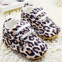 Wholesale Baby Children Shoes Winter Toddle Shoes With Leopard Pattern Moccasins Infant Crib Shoes For Kids Ready Stock KS40819