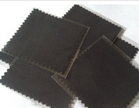 Wholesale Top Quality Black Cotton Silver Jewelry Polishing Cloth Cleaning Cloths