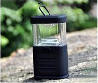 Wholesale Camp Out Bivouac Light LED Light Lamp Handheld Headlamps Hotselling lantern Tent lamp Black
