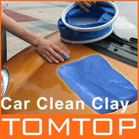Cheap 5Pcs Lot Magic Car Clean Clay Bar Auto Detailing Cleaner free shipping dropshipping Wholesale