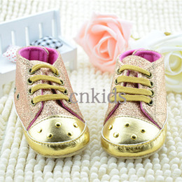 Wholesale Hot Sale Sapatinho Baby Shoes Paillette Cotton Solf Sole Kids Shoes For Toddle First Walker Infant Casual Shoes KS40819