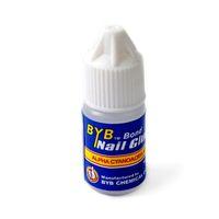 Wholesale 100pcs Nail Art Glue g grams ACRYLIC French Quick drying for Nail Tips Tool Fast Drying BYB Bond Nail Glue Alpha Cyanoacrylate