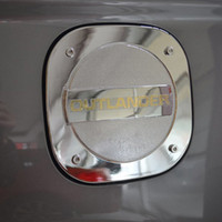Wholesale For Mitsubishi Outlander ABS Chrome Fuel Oil Gas Cap Tank Cover Trim
