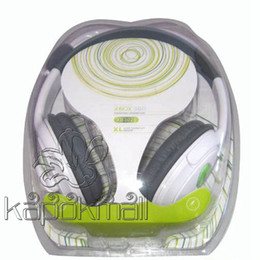 Wholesale Headset No Stereo Headphone Headset Earphone Microphone Mic For XBOX