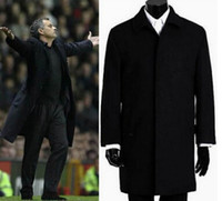 plus size dropship - 2014 winter Famous Brand wool coat mens Long trench coat jacket plus size outerwear coats men dropship