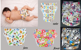Wholesale Coolababy Reusable baby nappy changing waterproof baby potty training panties washable reusable diaper baby care product Retail