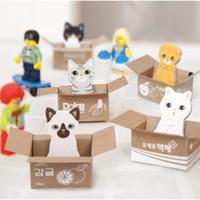 memo pad - Free ship Korean stationery kawaii carton cat sticker sticky memo pad notes post it school supplies
