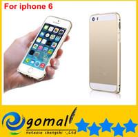 Wholesale Super Luxury Aluminum Metal Case Thin mm Aluminium Frame Bumper Cases For iphone Air G TH iphone6 quot A572