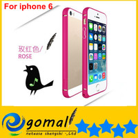 Wholesale 100pcs Ultra Thin mm Aluminium Frame Bumper Cases for iphone Air G TH iphone6 quot A572