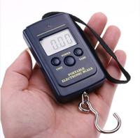 Cheap Wholesale-OP-1Pcs Free shipping 40kg x 10g Portable Mini Electronic Digital Scale Hanging Fishing Hook Pocket Weighing Balance
