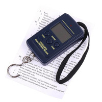 <50g   Wholesale-Digital Hanging Luggage Fishing Weight Scale Portable scale Waage Electronical 20g-40Kg 20g 40kg 40kgx20g Free Shipping
