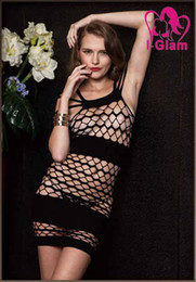 Wholesale 3pcs Sexy Lingerie Night Club Spandex Body Stocking Bodysuit Black