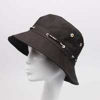 Wholesale 100 cotton female and men spring and summer bucket hat sun hat fishing hats color available