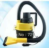 Wholesale car Automobile Mini Portable High power Wet and dry Vehicle cleaner Car vacuum cleaner W