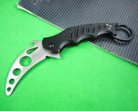 Cheap Special offers FOX karambit train knife folding Practice knife tactical knife knives New in original paper box packing