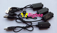Wholesale NEW USB Charger For EGO Series Electronic Cigarette Charging USB Cable charger wire DC V Free Drop Shipping