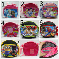 Fashion Cartoon handbags Children messager bags Frozen Peppa...