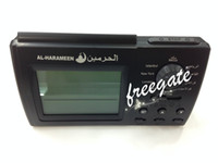 Wholesale High Quality Automatic Islamic Table Azan Clock Alarm Clock Muslim Prayer Allah Azan Muslim Clock with Retail Packaging