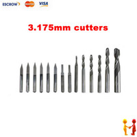 Wholesale Freeshipping mm CNC tool bits including Flat bottom knife and milling cutters