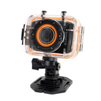 Wholesale 2014 New FHD P inch Mini Touch Screen Sports Action Camera Digital Camcorder with Waterproof Case Black