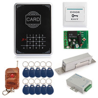Wholesale Single Door RFID Proximity Entry Touch Key Lock Access Control System Kit Set