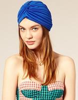 10pcs/beaucoup de gros 2014 l'arrivée de nouveaux femmes vintage turban chapeau bandeau chapeau couvrant livraison gratuite de serviette pastèque chapeau 18colors