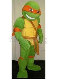 Wholesale High Quality Teenage Mutant Ninja Turtles Mascot costume Cartoon Character Costumes Party Dress Adult Size