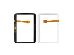 Test Passed Touch Screen Digitizer For Samsung Galaxy Tab 3 10.1 P5200 P5210 Touch Screen Digitizer Black and White Colors 10PCS